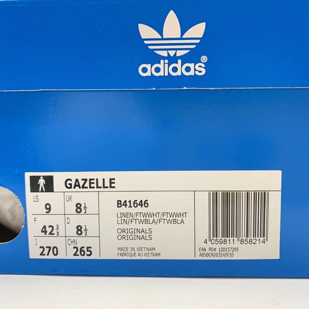 adidas・ORIGINALS GAZELLE アディダス オリジナルス ガゼル・27cm・新品_画像8