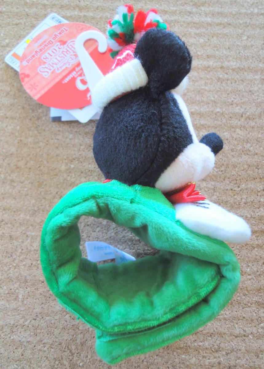 TOKYO Disney 35th CHRISTMAS 2018  ミッキーマウス ぬいぐるみバンド             タグ付き 未使用品210190523_画像4