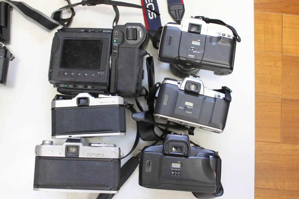 一眼レフカメラ① lumix/tamron/pentax/canon/ricoh/konica/fujica/nikon/minolta ジャンク アンティーク 骨董_画像7