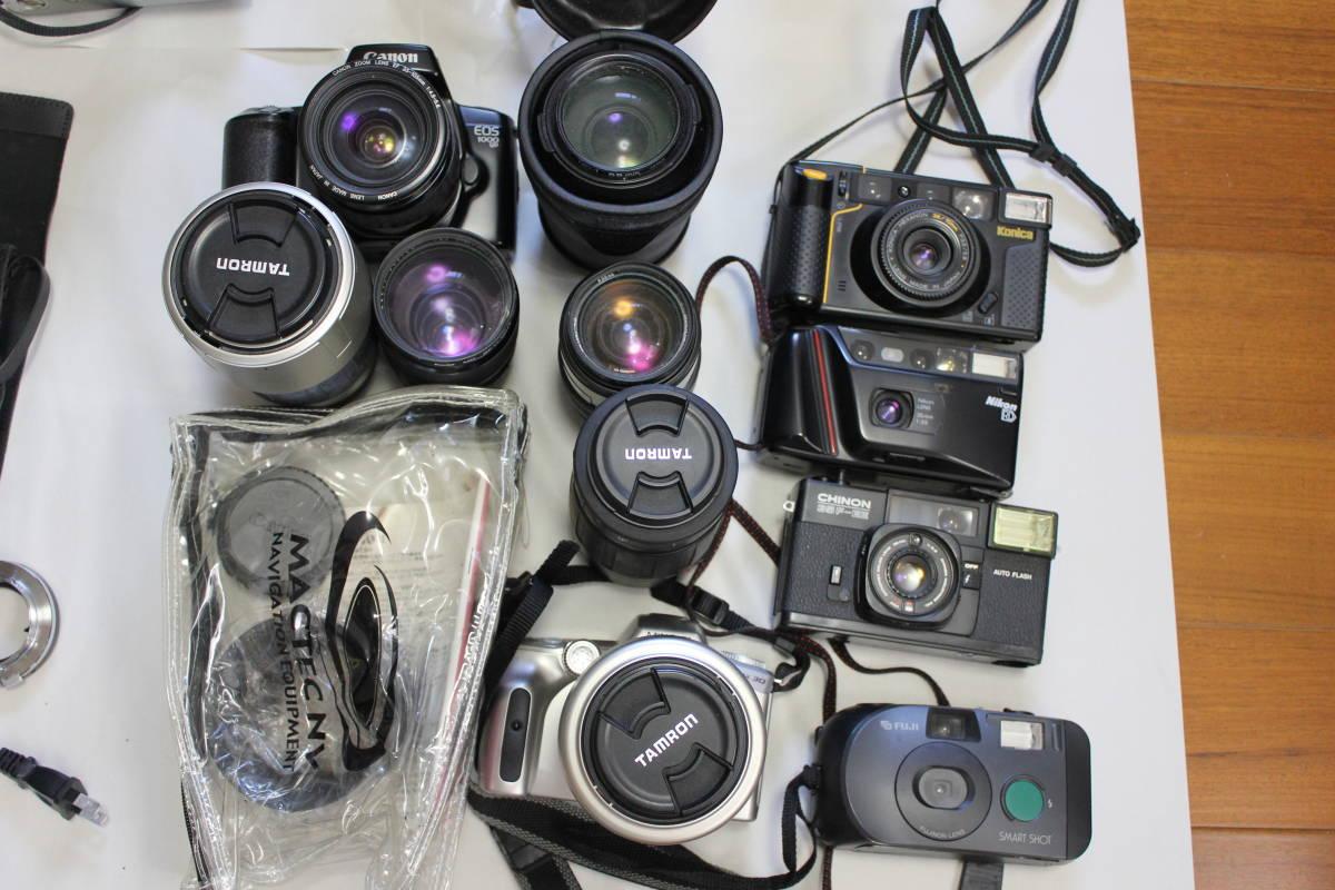 一眼レフカメラ① lumix/tamron/pentax/canon/ricoh/konica/fujica/nikon/minolta ジャンク アンティーク 骨董_画像3