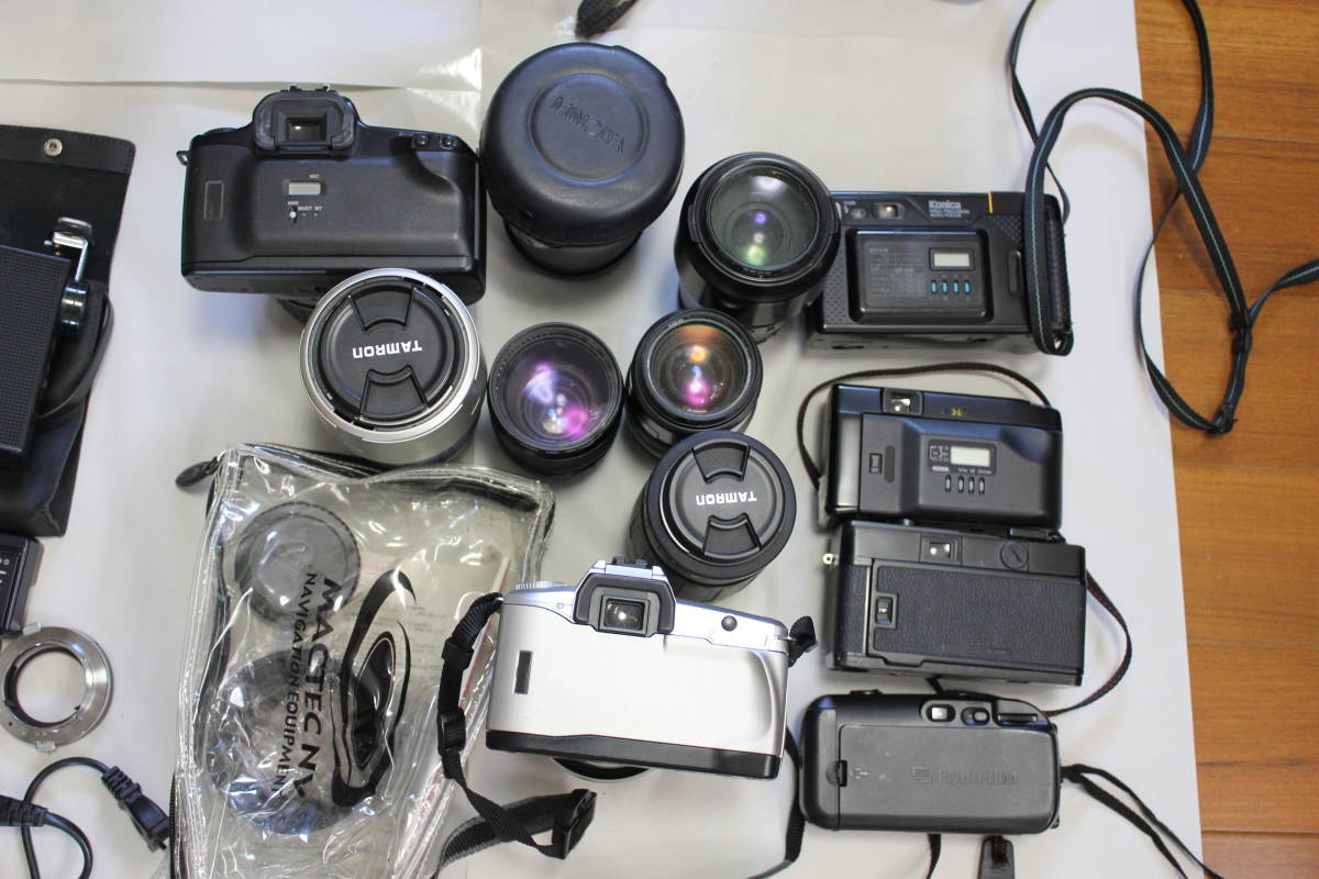 一眼レフカメラ① lumix/tamron/pentax/canon/ricoh/konica/fujica/nikon/minolta ジャンク アンティーク 骨董_画像6