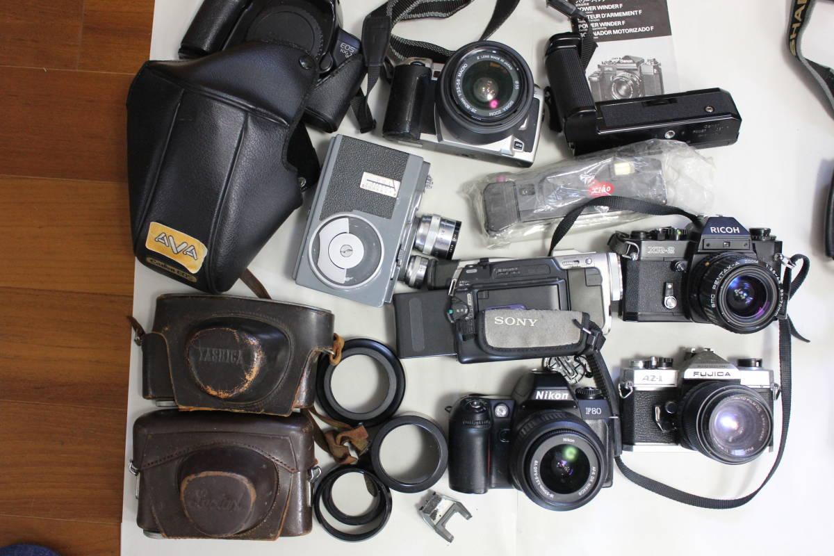 一眼レフカメラ① lumix/tamron/pentax/canon/ricoh/konica/fujica/nikon/minolta ジャンク アンティーク 骨董_画像8