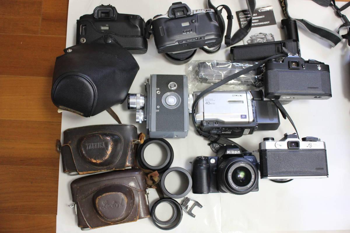 一眼レフカメラ① lumix/tamron/pentax/canon/ricoh/konica/fujica/nikon/minolta ジャンク アンティーク 骨董_画像9