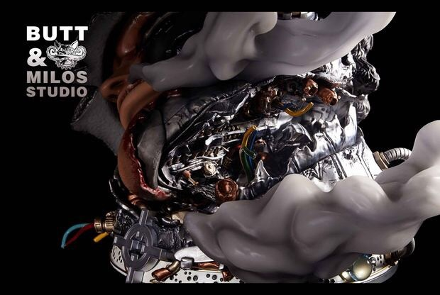 『ワンピース』新作予約 ONE PIECE 七武海 バーソロミュー・クマ 1/6 フィギュア 彫像 BMS数量限定品 樹脂GK完成品 改造_画像3