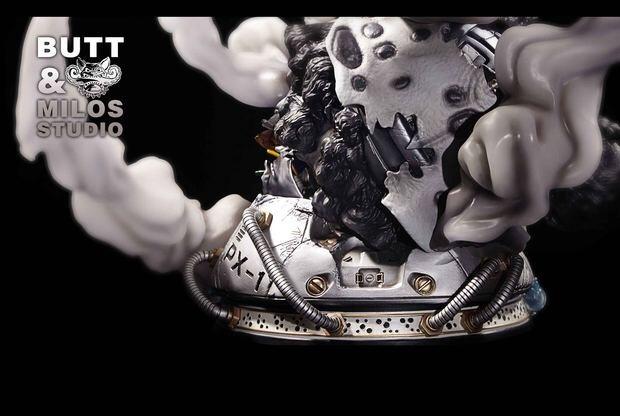 『ワンピース』新作予約 ONE PIECE 七武海 バーソロミュー・クマ 1/6 フィギュア 彫像 BMS数量限定品 樹脂GK完成品 改造_画像8