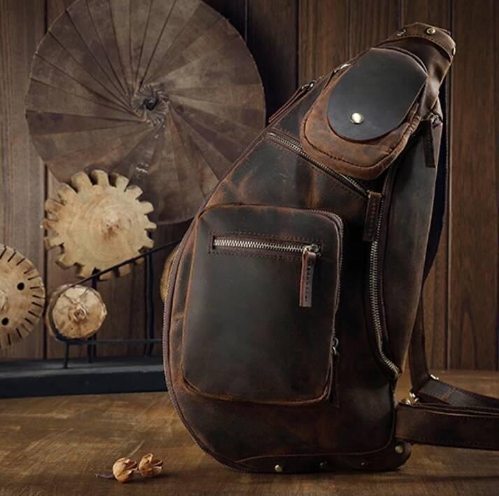♪★高品質★♪上層牛革100%ショルダーバッグ メンズバッグ ハンドバッグ ビジネスバッグ 鞄 書類かばん 斜めがけ ショルダーバッグ