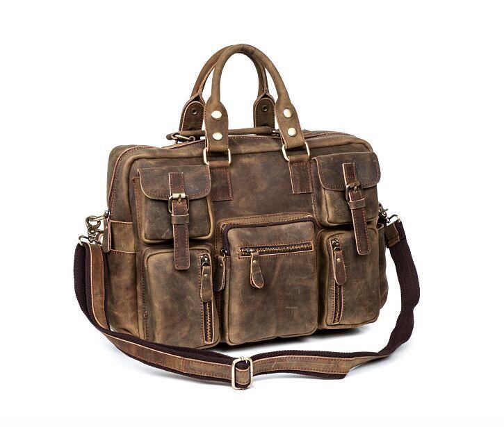 【定価65万】.【純手工細作】上層牛革100%メンズビジネスバッグ 書類かばん ビジネスバッグ ショルダーバッグ メンズバッグ 鞄_画像7