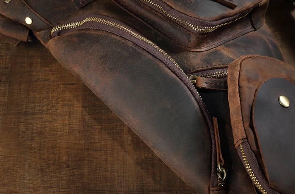 ♪★高品質★♪上層牛革100%ショルダーバッグ メンズバッグ ハンドバッグ ビジネスバッグ 鞄 書類かばん 斜めがけ ショルダーバッグ_画像6