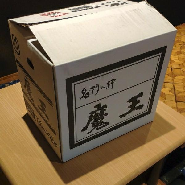 魔王 芋焼酎 ケース 720ミリ
