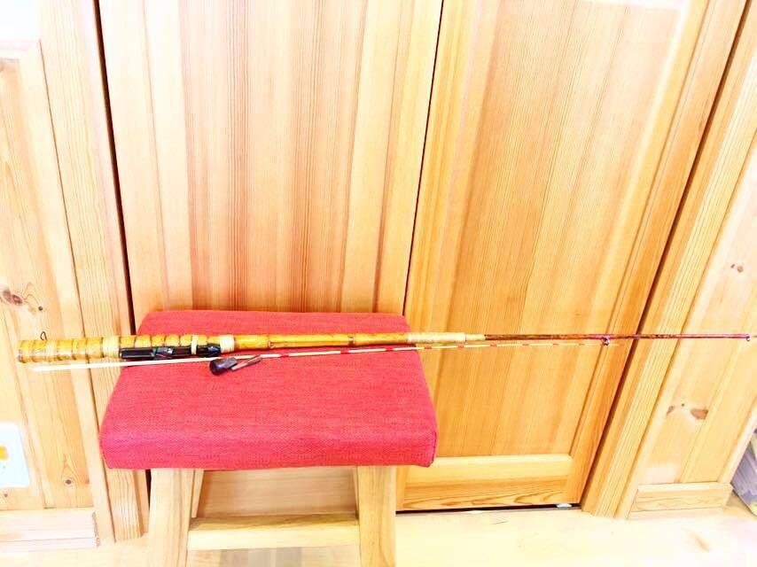 竹 竿 ヘラブナ竿 手作り 中古