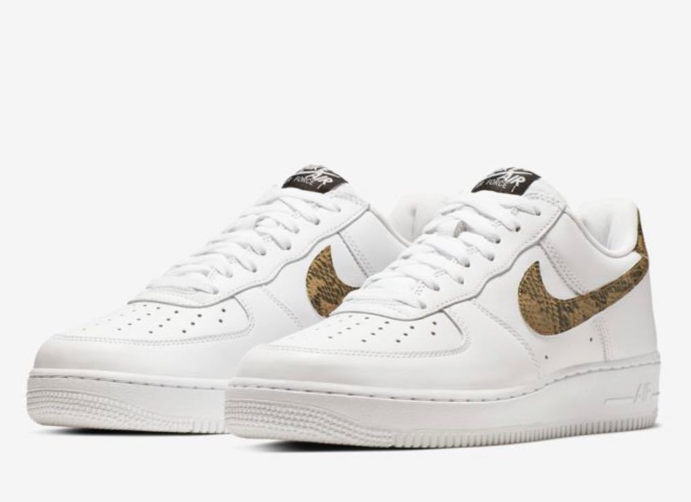 27.0cm NIKE AIR FORCE 1 LOW RETRO 96 SNAKE ナイキ エアフォース 新品 未試着 付属品完備 jordan max off white supreme