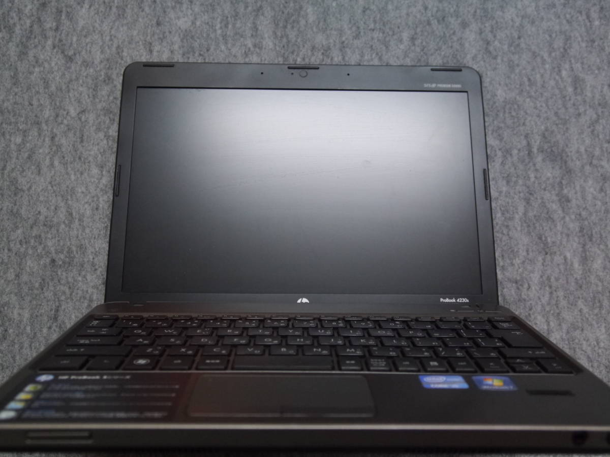 ProBook4230s ジャンク バッテリ無 _画像2