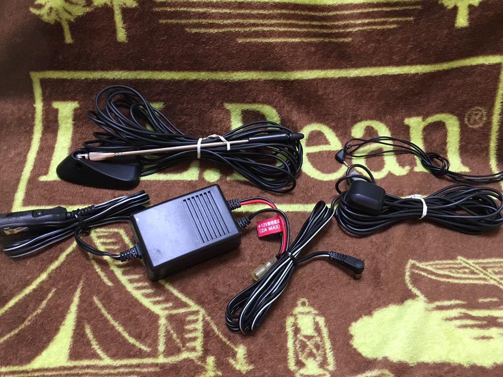 SANYO サンヨー ゴリラ 8V型 HDD/DVDナビ NV-HD810 ACアダプター・リモコン・カーバッテリーアダプター等_画像6