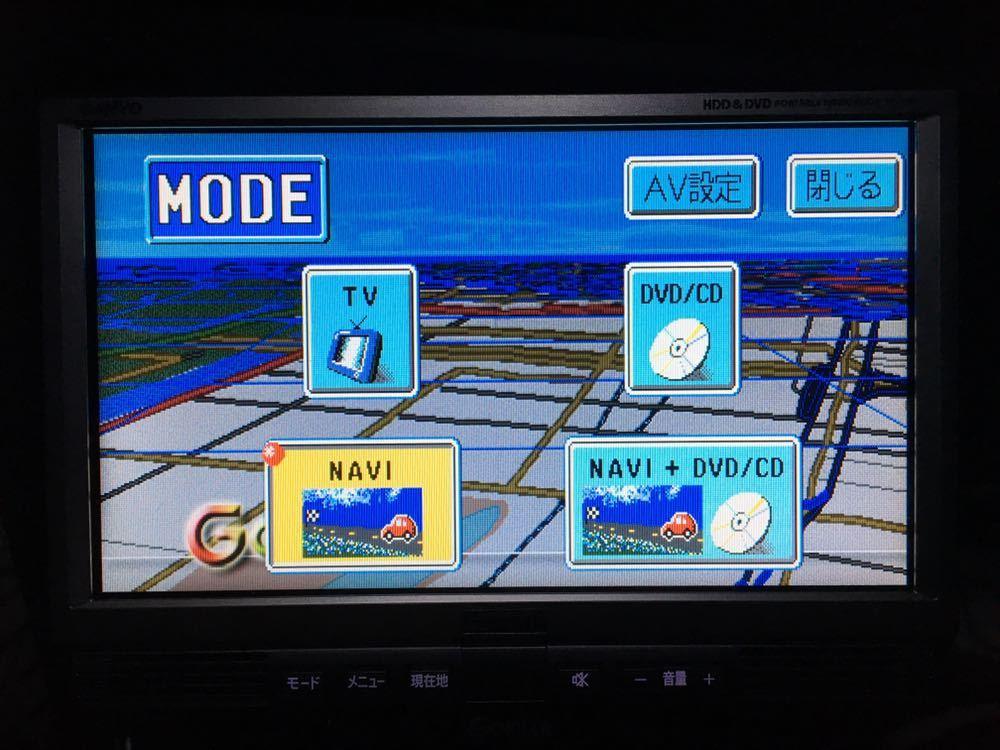 SANYO サンヨー ゴリラ 8V型 HDD/DVDナビ NV-HD810 ACアダプター・リモコン・カーバッテリーアダプター等