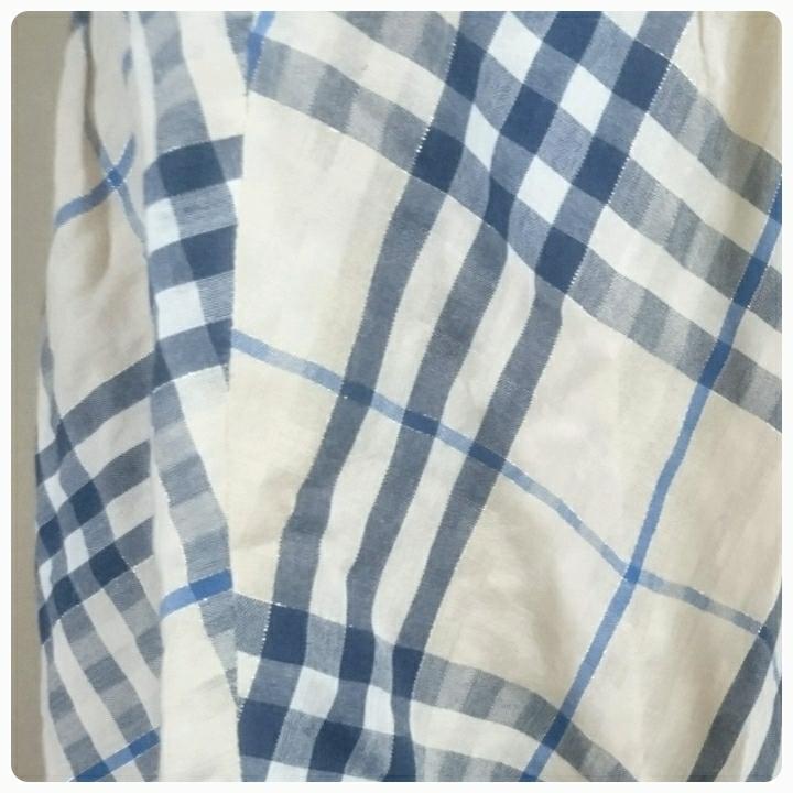 バーバリー ブルーレーベル スカート ノバチエック サイズ38_画像9