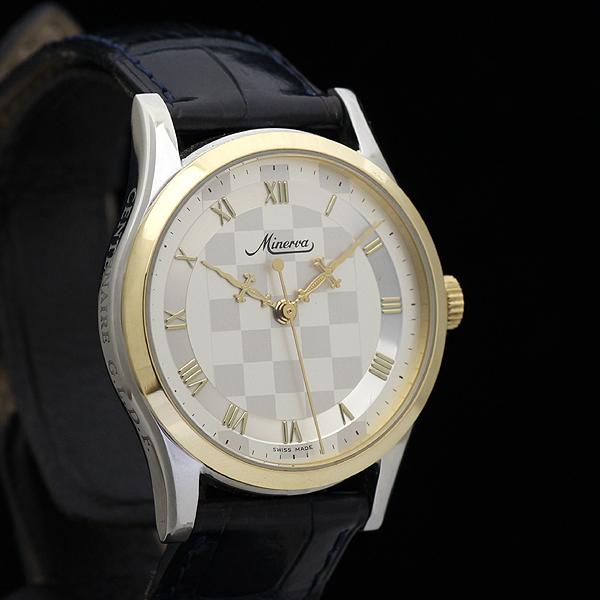 9f43d0e00f 1円 美品 MINERVAミネルバ メンズ 腕時計 1000本限定 フリーメイソン グランドロッジ フ