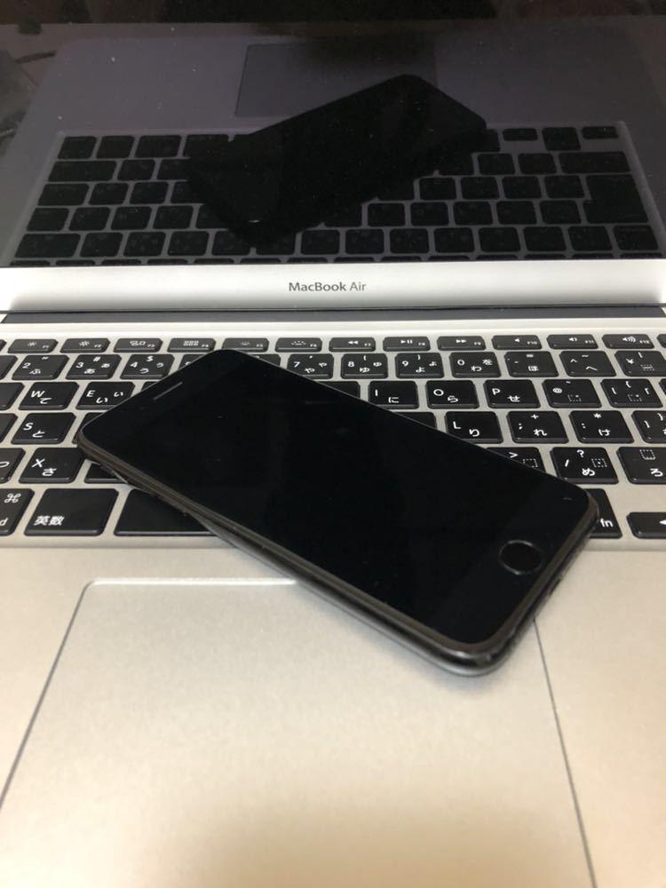 美品・ 海外版SIMフリー・Apple iPhone 7 128gb・ジェットブラック・安心・一括購入・外国でも使用可・