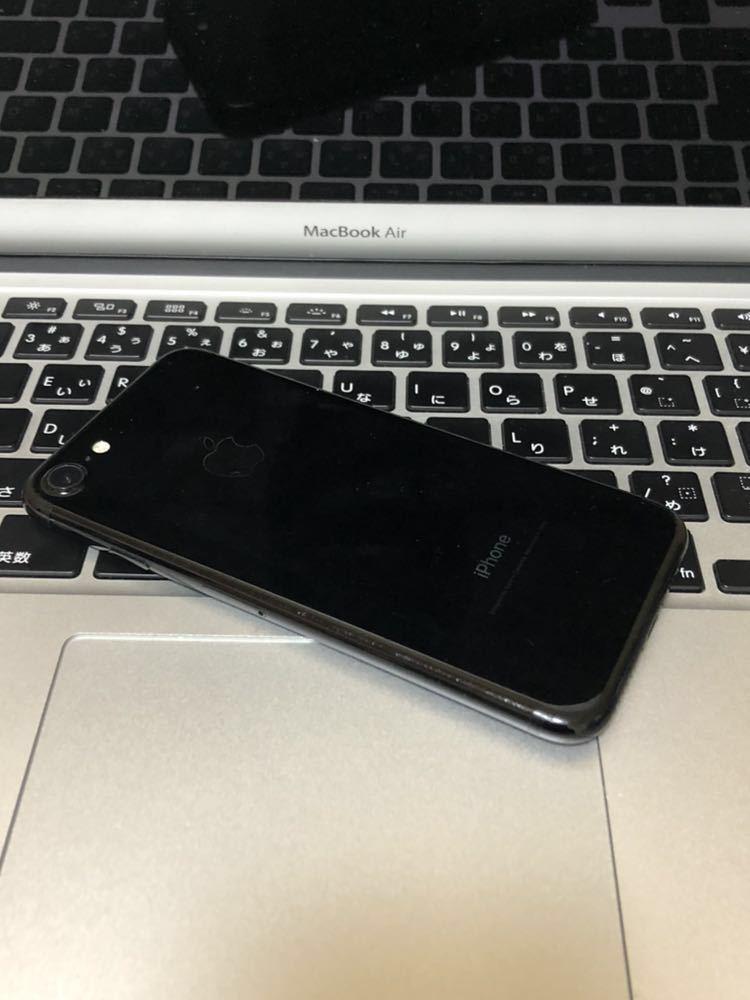 美品・ 海外版SIMフリー・Apple iPhone 7 128gb・ジェットブラック・安心・一括購入・外国でも使用可・_画像4