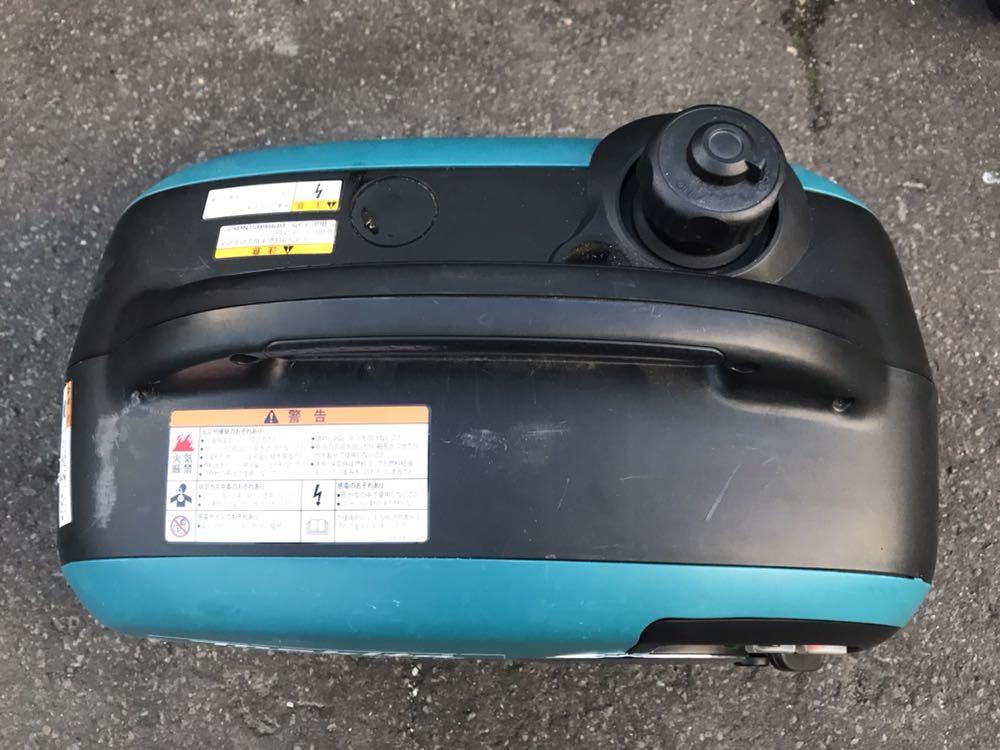 C805 Makita/マキタ インバータ発電機 EG1600IS ポータブルタイプ エンジン発電機 動作確認済み 発送ヤマト 140サイズ_画像4