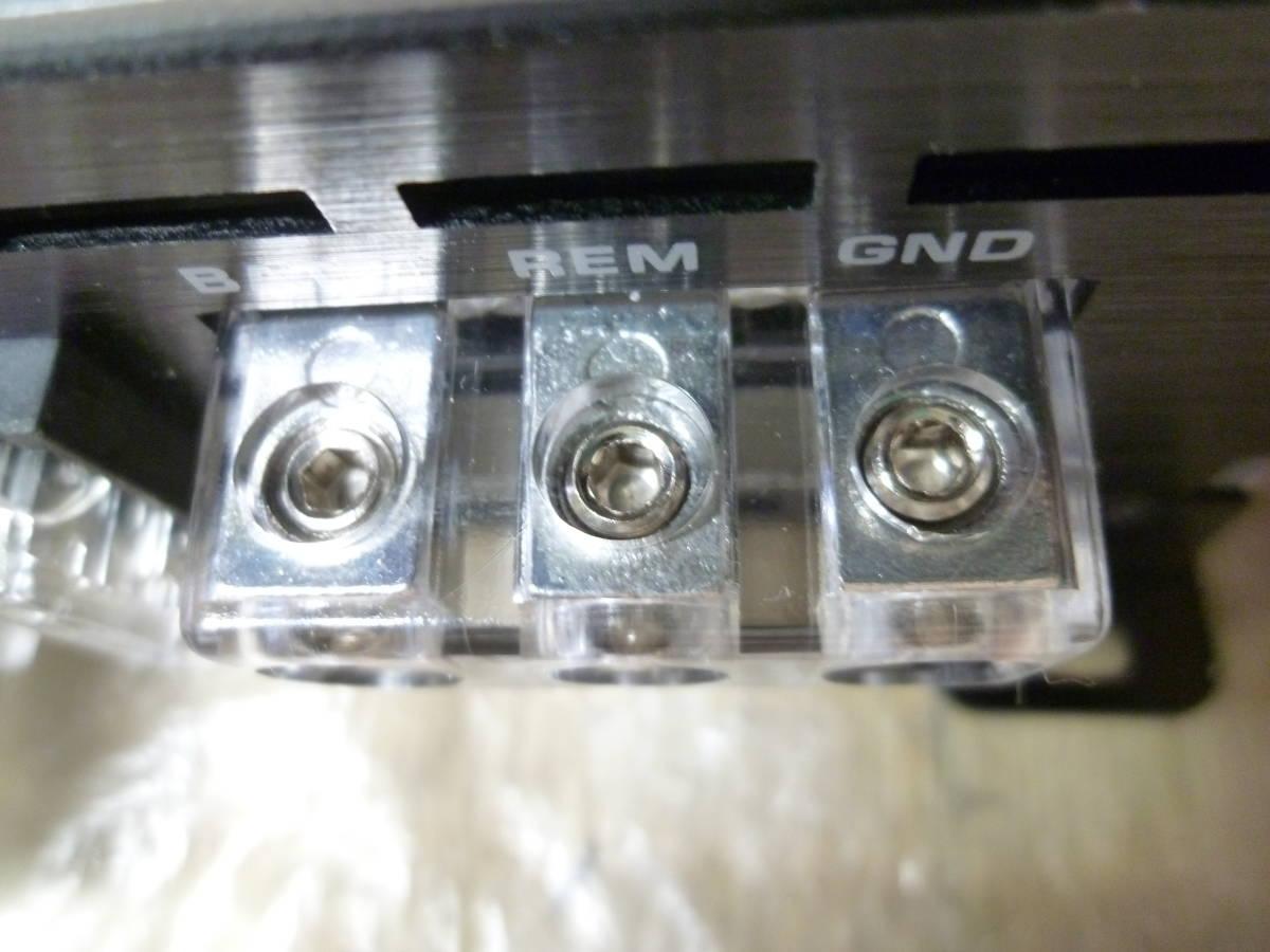 車載動作確認済み 10日間保証有り / PHASS ファス 廃盤品 AP4.50 4chパワーアンプ/カナレ4S6高級SP-K10m付き/配送は送料安いヤフネコ発送_画像5