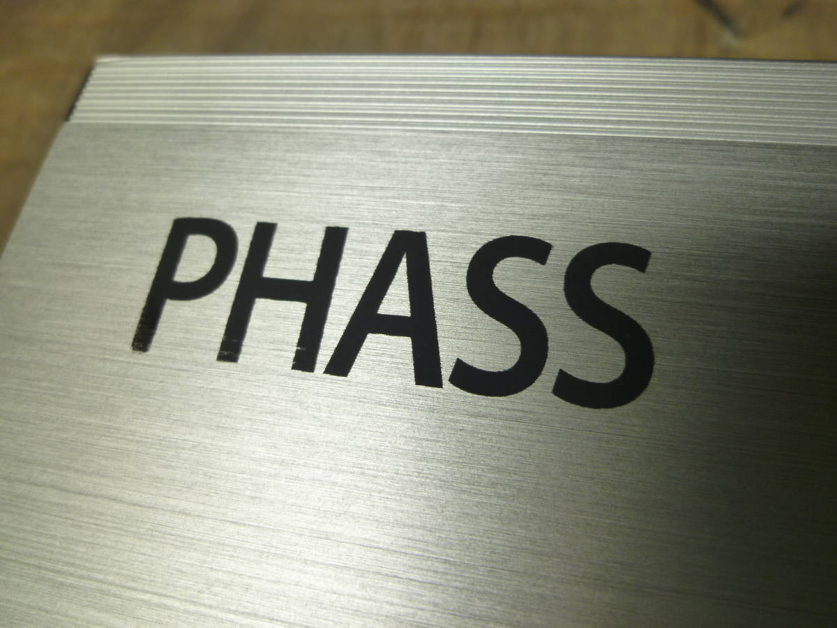 車載動作確認済み 10日間保証有り / PHASS ファス 廃盤品 AP4.50 4chパワーアンプ/カナレ4S6高級SP-K10m付き/配送は送料安いヤフネコ発送_画像8