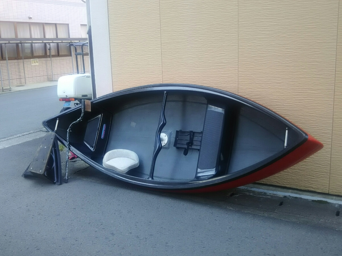 免許不用 アカシヨット FRP製バスボート オマケ付き