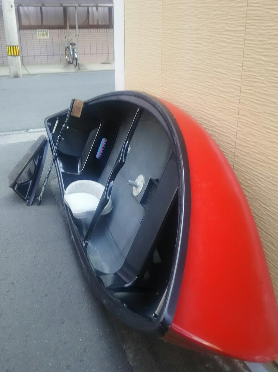 免許不用 アカシヨット FRP製バスボート オマケ付き_画像3