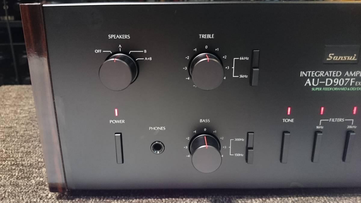 Sansui サンスイ AU-D907F EXTRA 『整備動作品 保証あり』 プリメインアンプ_画像2