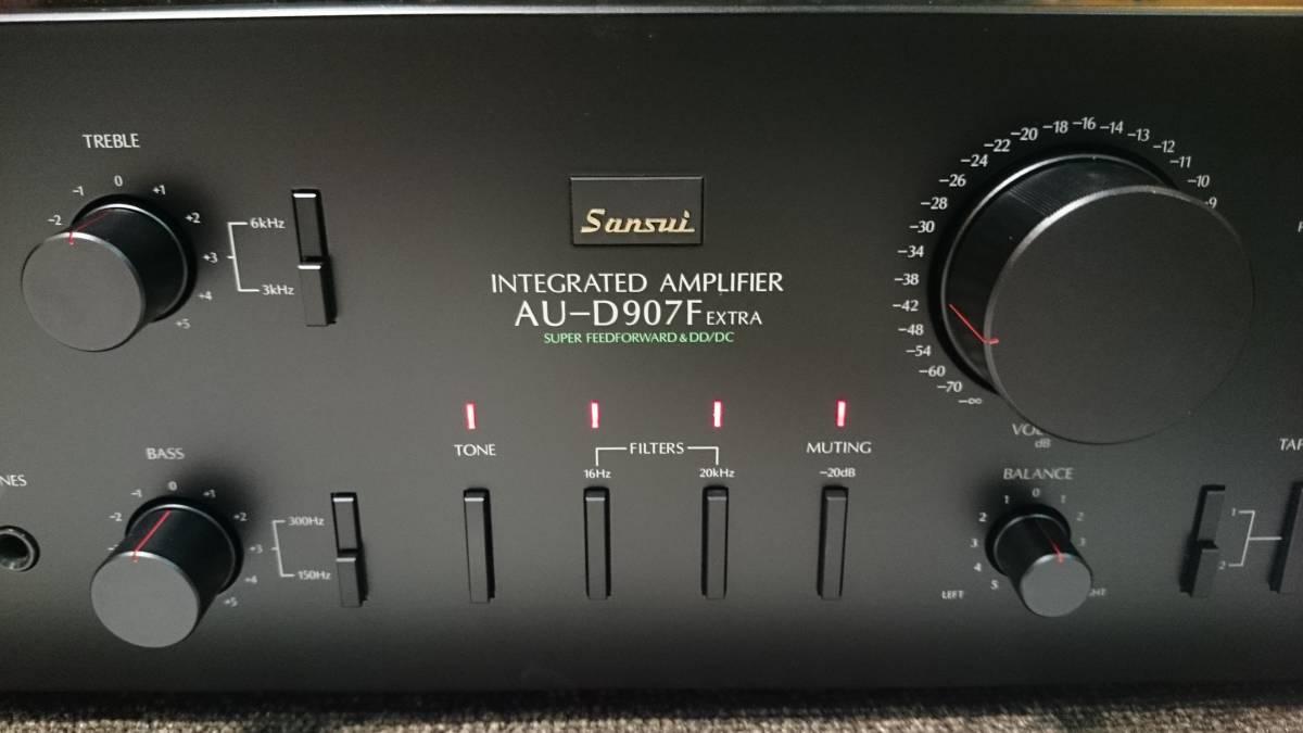 Sansui サンスイ AU-D907F EXTRA 『整備動作品 保証あり』 プリメインアンプ_画像3