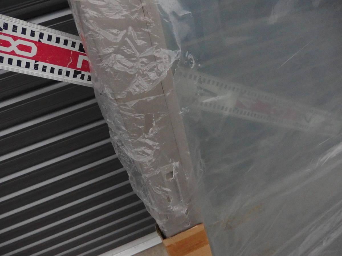 引取限定 樹脂サッシ 防犯 LowE ペアガラス 引違い窓 15020 プラチナステン_画像7