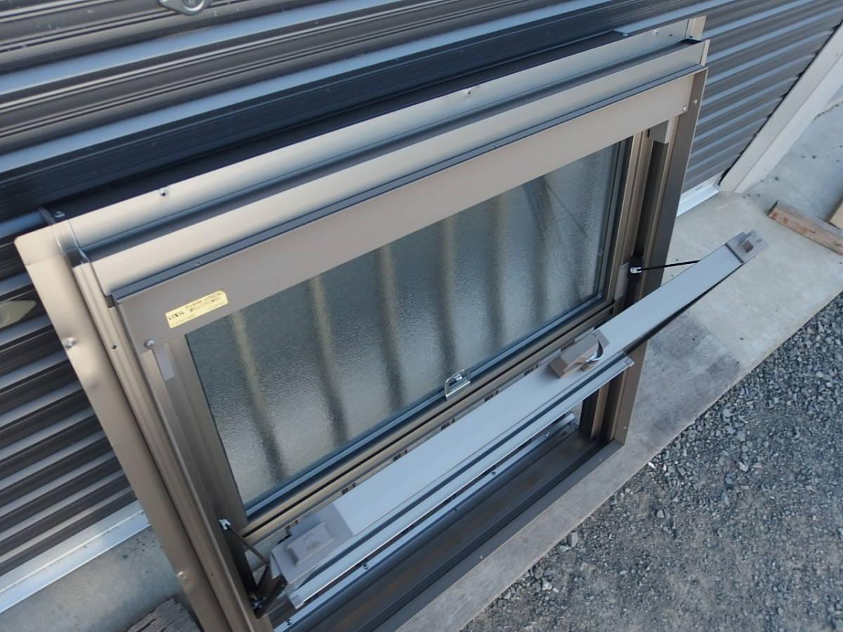 在庫品 アルミサッシ ペアガラス 上げ下げ窓 07407 シャイングレー 縦格子_画像5