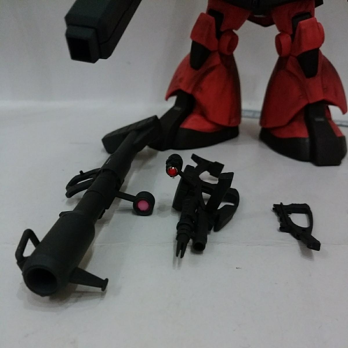 MG 1/100 MS-09RS シャア・アズナブル専用 リックドム ギレンの野望 完成品 _画像4