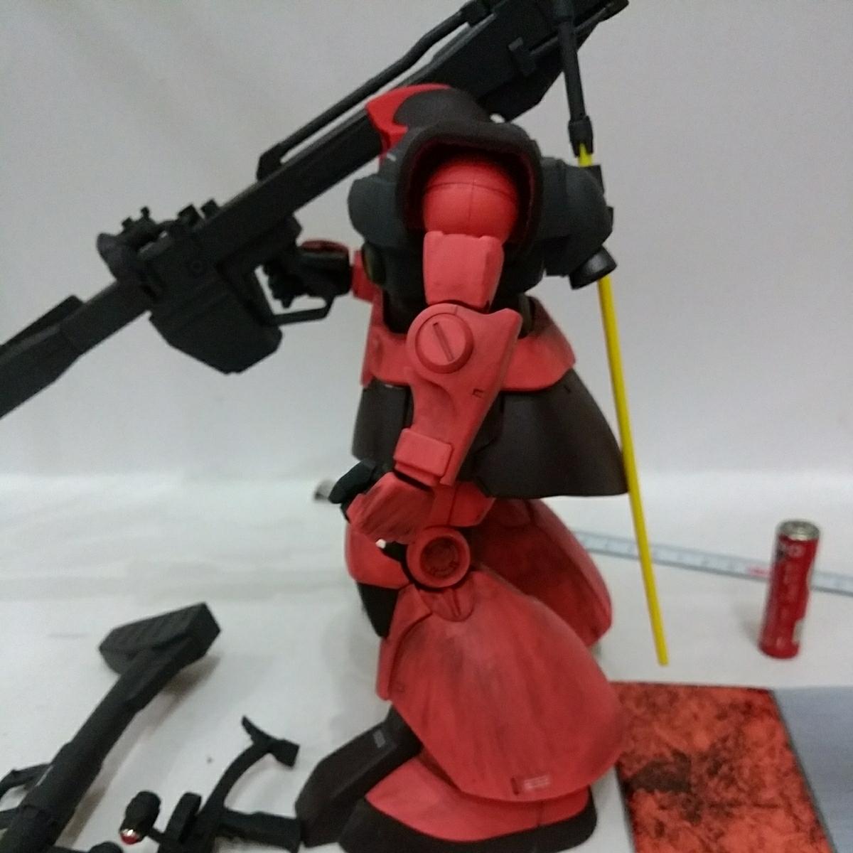 MG 1/100 MS-09RS シャア・アズナブル専用 リックドム ギレンの野望 完成品 _画像5