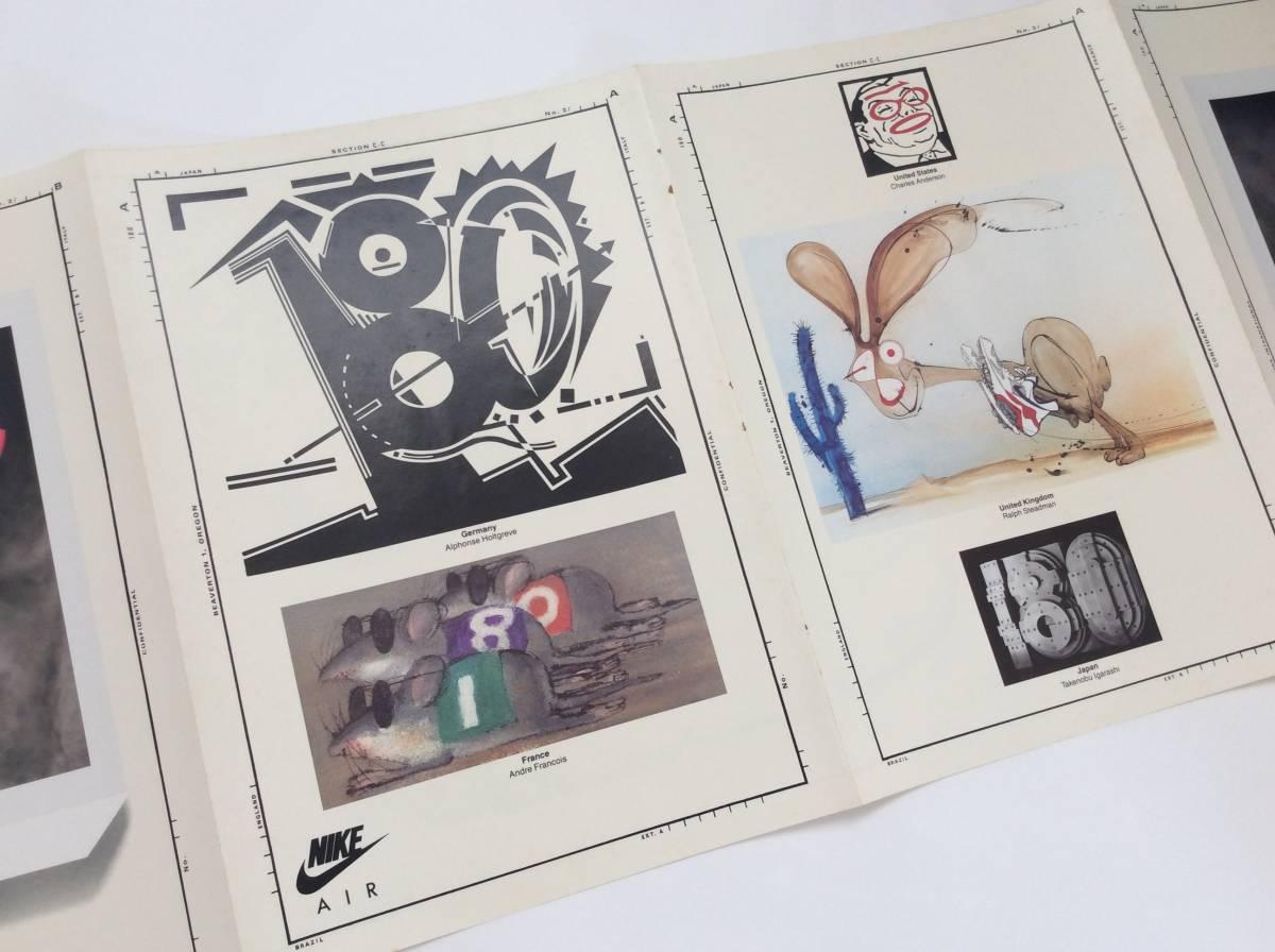 ヤフオク 90年代ナイキビンテージ アーティストイラスト作