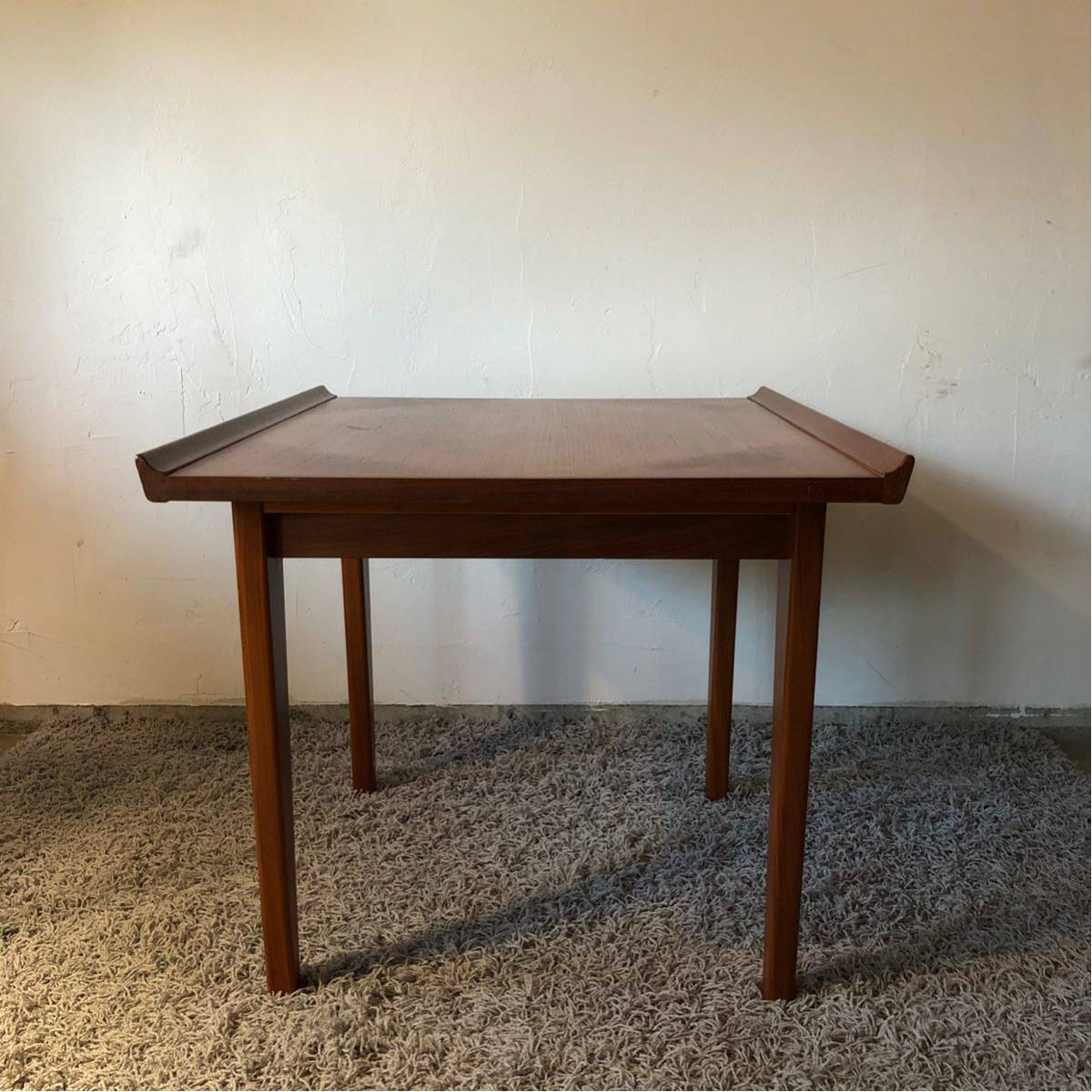 北欧デンマーク ヴィンテージテーブル/ミニテーブル/チーク/フィンユール/ハンスウェグナー/ルイスポールセン_画像2