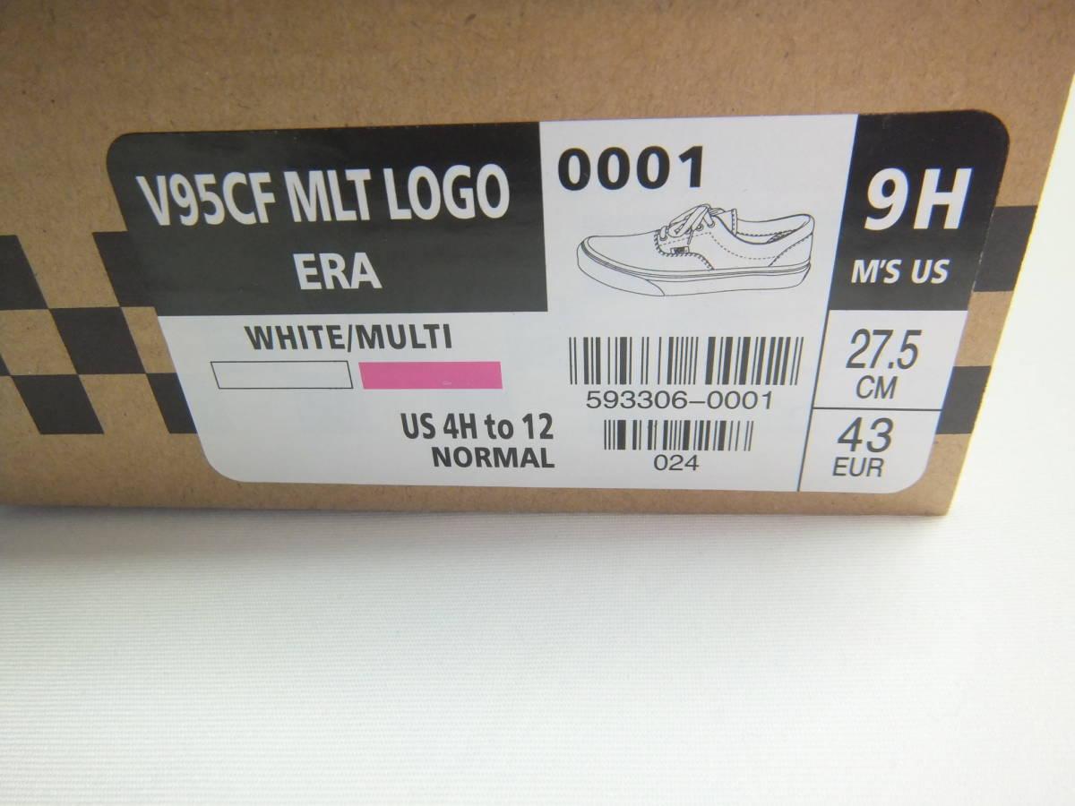 バンズ 横浜グリーンルーム 会場 限定 VANS V95CF MLT LOGO ERA 27.5センチ マルチ ロゴ MULTI 激レア! GREENROOM FESTIVAL 2019_画像3