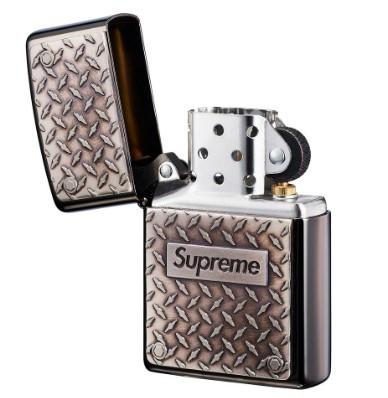 国内発送 19ss Supreme Diamond Plate Zippo METAL シュプリーム ジッポ ライター メタル 2019ss week11