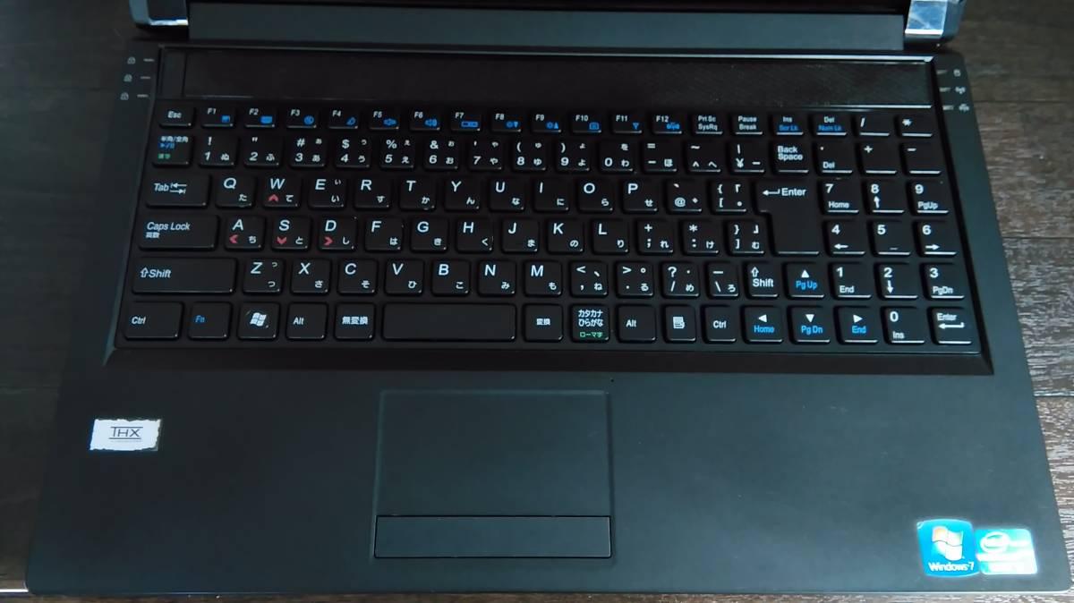 瞬間起動 SSD512GB新品 ゲーミング CLEVO P151EM1 i7-3630QM NVIDIA GeForce GTX670M win10pro 8G Full HD office2019♪アダプター新品♪_画像2