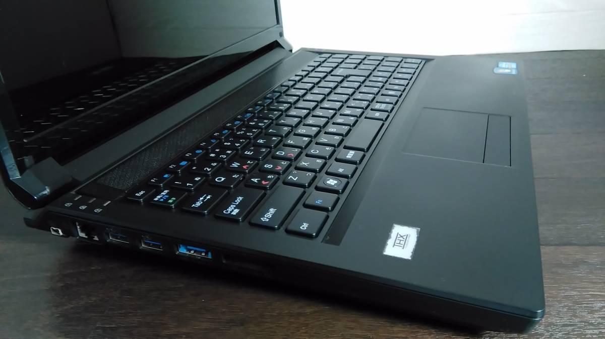 瞬間起動 SSD512GB新品 ゲーミング CLEVO P151EM1 i7-3630QM NVIDIA GeForce GTX670M win10pro 8G Full HD office2019♪アダプター新品♪_画像4