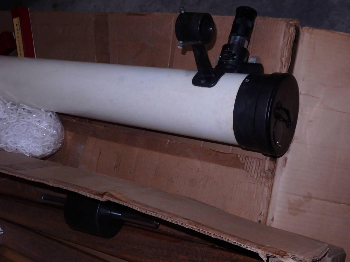 高橋製作所 天体望遠鏡 TS式D100mm f1000mm反射式赤道儀 ジャンク_画像4