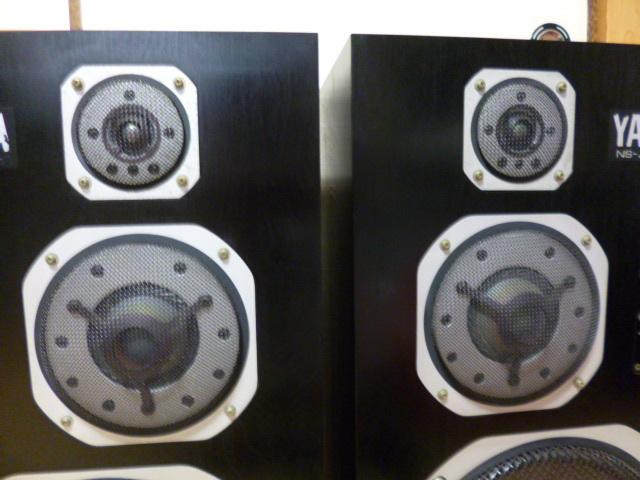 ヤマハ NS-1000M スピーカーLR_画像2