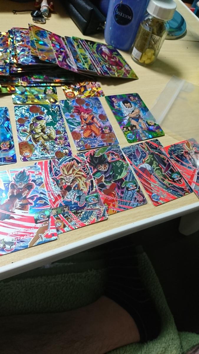 スーパードラゴンボールヒーローズ um8 cp ベジット ブロリー 孫悟空 SR プロモ cp まとめ売り 100枚 オリパ等に 美品_画像3