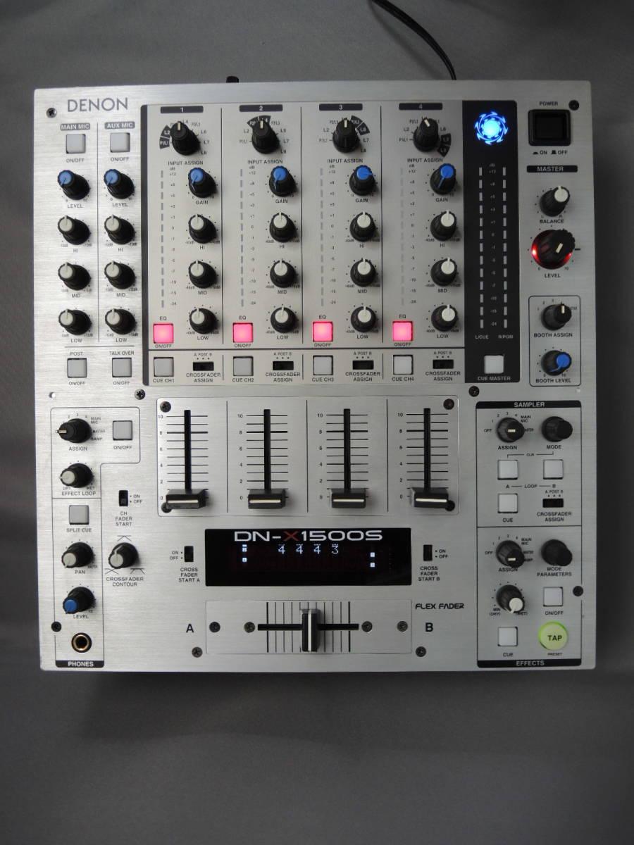 прекрасный товар * Denon DENON*DN-X1500S многофункциональный 4ch цифровой DJ миксер *