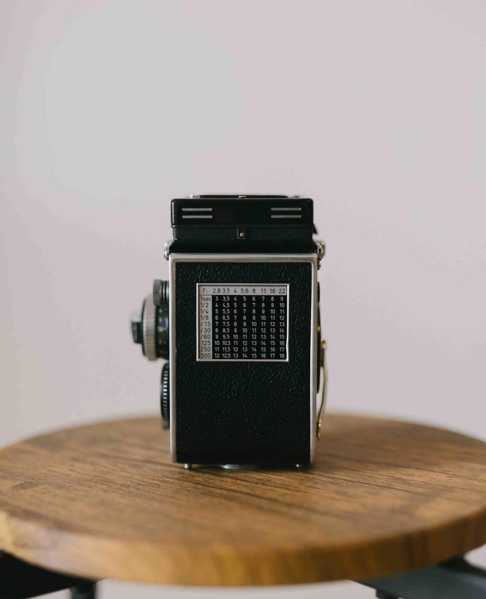 【超美品】Rolleiflex 3.5F ローライフレックス 3.5F Planar 75mm 付属品あり_画像4