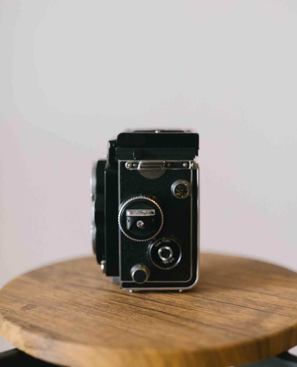 【超美品】Rolleiflex 3.5F ローライフレックス 3.5F Planar 75mm 付属品あり_画像5