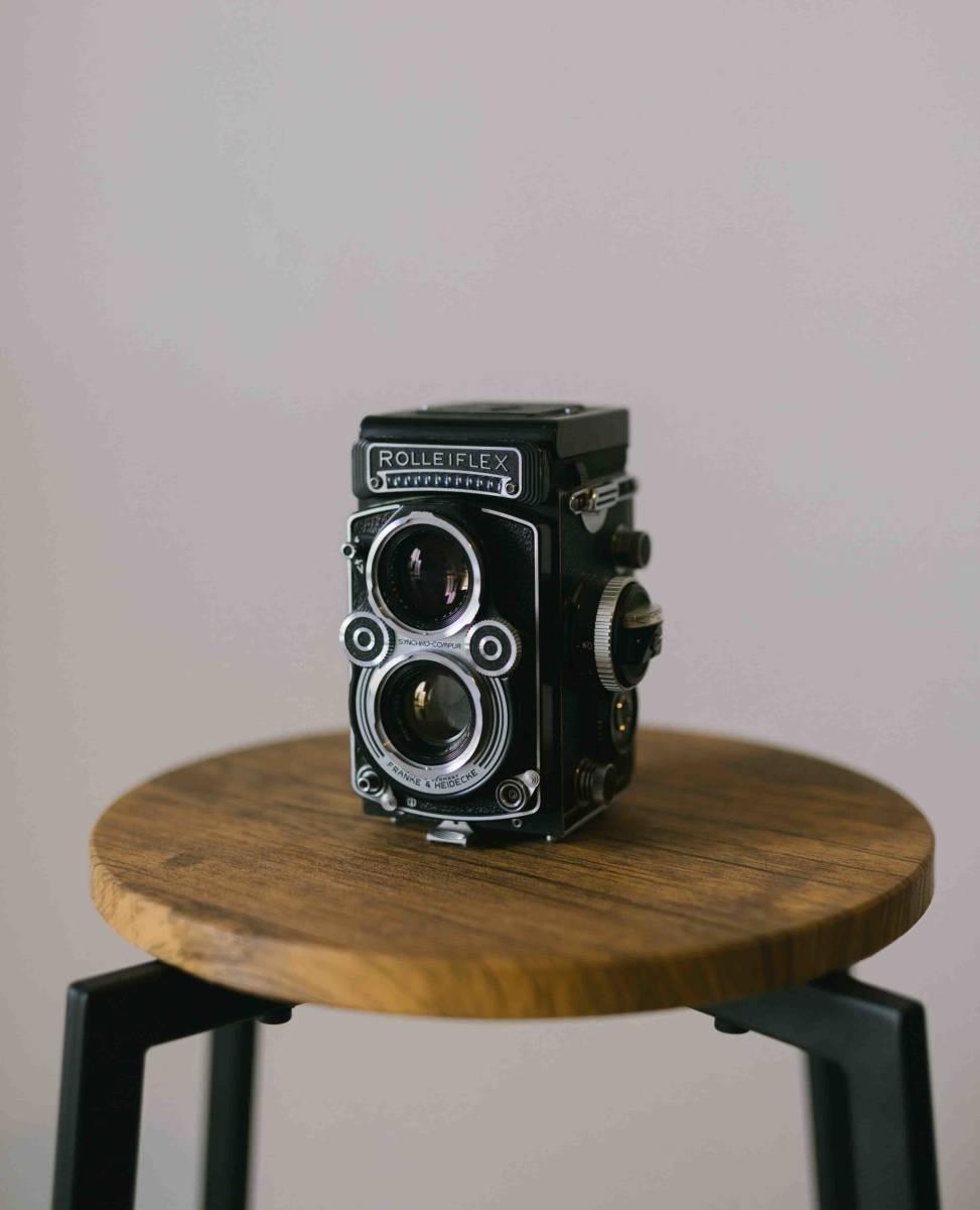【超美品】Rolleiflex 3.5F ローライフレックス 3.5F Planar 75mm 付属品あり