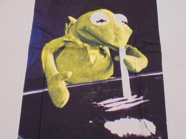 【新品】 カーミット コカイン パロディ Tシャツ【S】 /セサミストリート_画像2