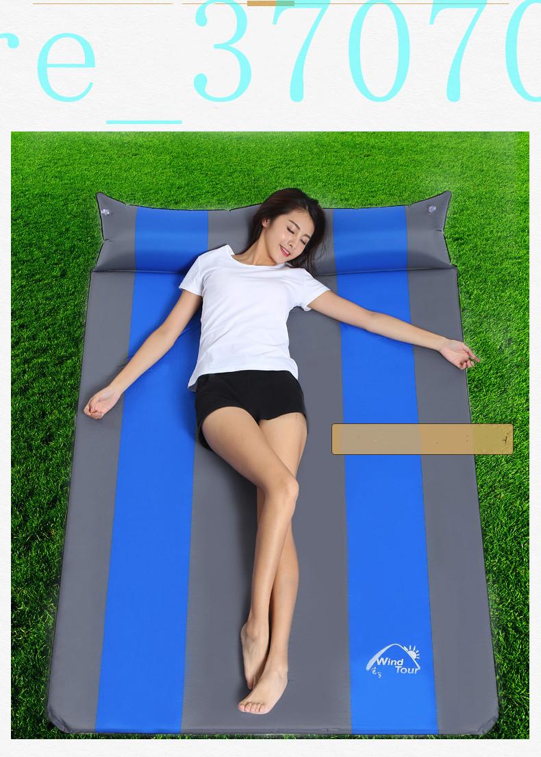 ★【ペアモデル】 車中泊 マット Sサイズ 厚さ3cm 自動膨張式 簡易ベッド エアマット エアベッドwdhwsx354_画像9