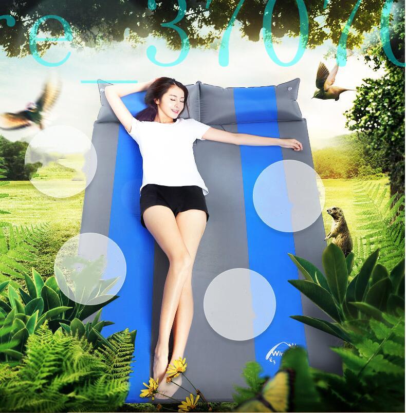★【ペアモデル】 車中泊 マット Sサイズ 厚さ3cm 自動膨張式 簡易ベッド エアマット エアベッドwdhwsx354_画像8