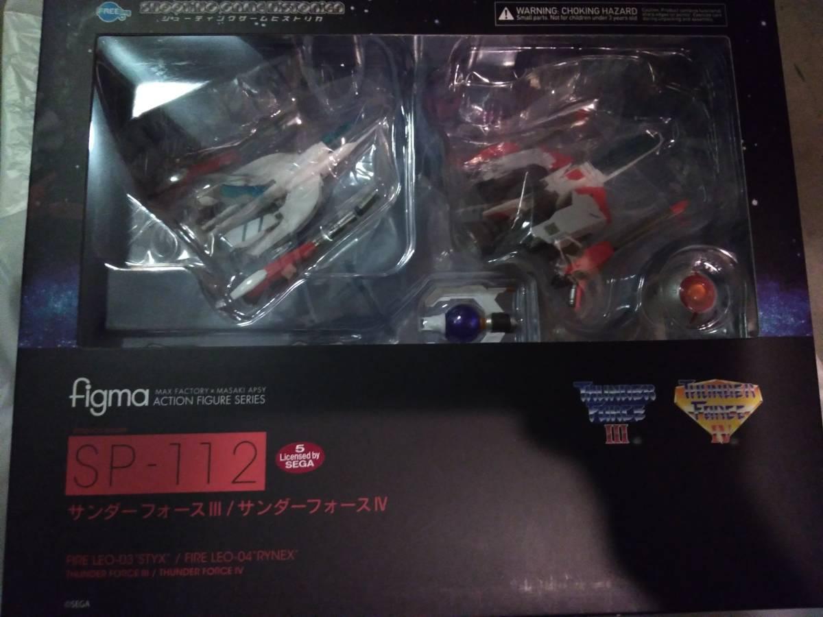 新品 未開封 figma サンダーフォースIII FIRE LEO-03 STYX / figma サンダーフォースIV FIRE LEO-04 RYNEX グッドスマイルカンパニー